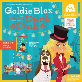 Goldieblox and dunk tank